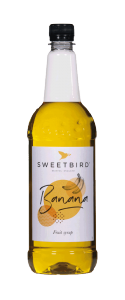 Sweetbird Banana Syrup - 1 litre